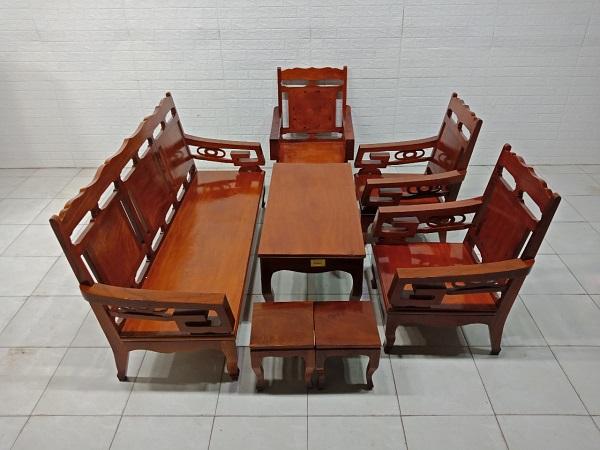 Sofa gỗ Hương cũ SP008070