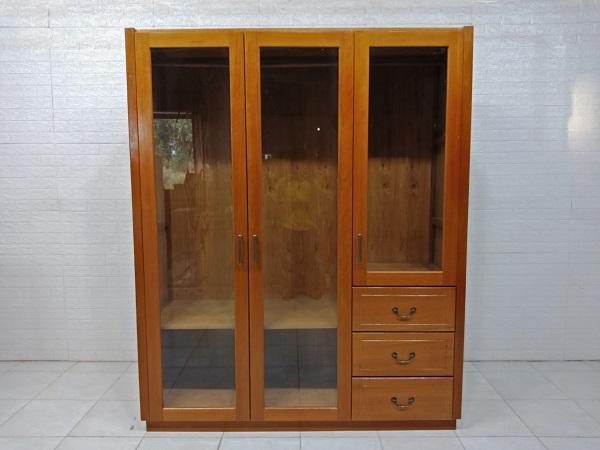 Tủ quần áo gỗ Dầu vàng cũ SP007953