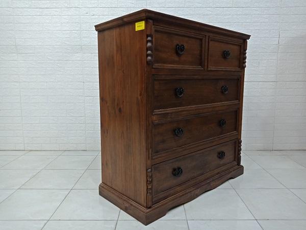 Tủ commost gỗ thông cũ SP007995