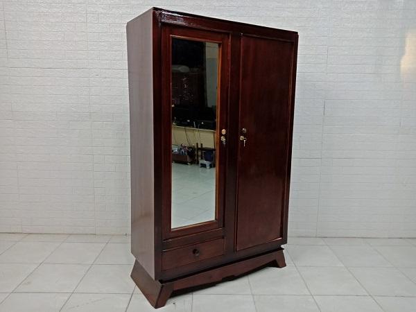 Tủ quần áo gỗ Gõ đỏ cũ SP007884