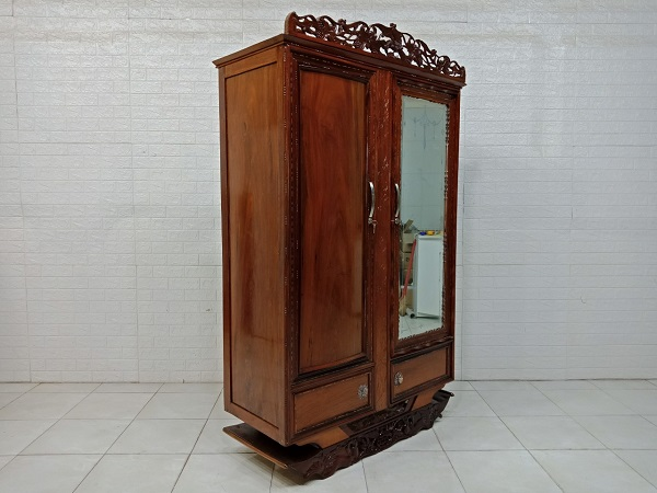 Tủ quần áo gỗ Hương cũ SP008072