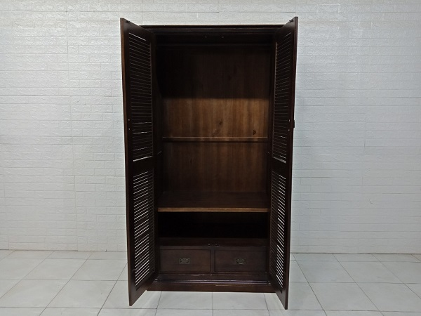 Tủ quần áo gỗ Sồi cũ SP007861