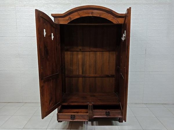 Tủ quần áo gỗ Thông cũ SP007996