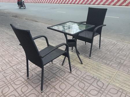 Bộ bàn cafe cũ SP013063