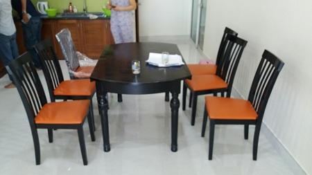 Bộ bàn ăn cũ SP013101