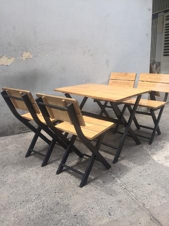 Bộ bàn cafe cũ SP013122