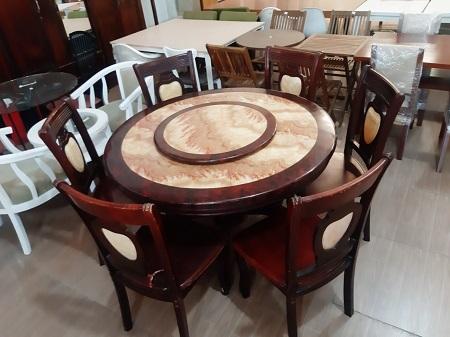 Bộ bàn ăn cũ SP015726