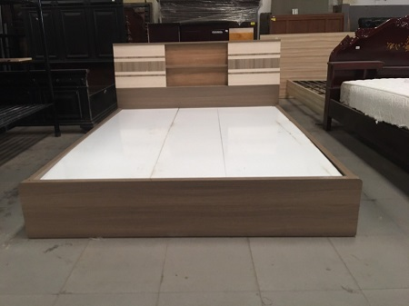 Giường gỗ MFC cũ SP015760