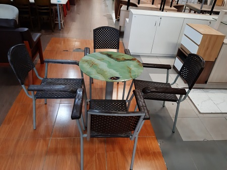 Bộ bàn cafe cũ SP015852
