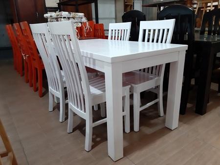Bộ bàn ăn gỗ tự nhiên cũ SP015819.4