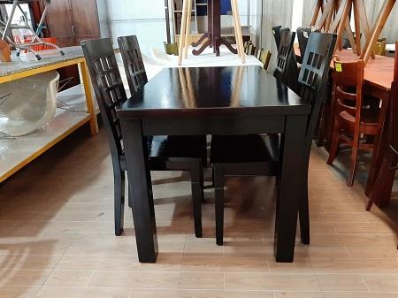 Bộ bàn ăn gỗ tự nhiên cũ SP015819.5