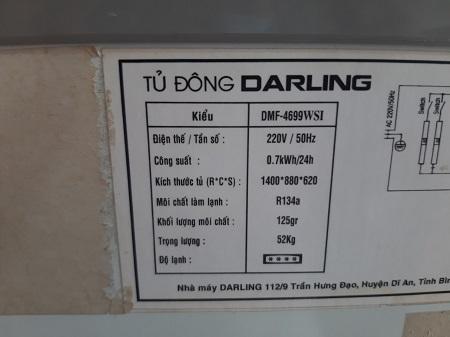Tủ đông Inverter DARLING MF-4699WSI cũ SP015829