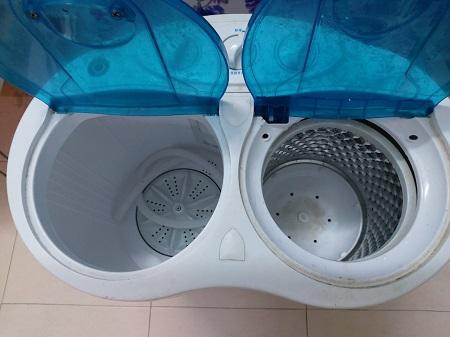 Máy giặt mini 2 lồng 4.5KG XPB45-488S cũ SP015893