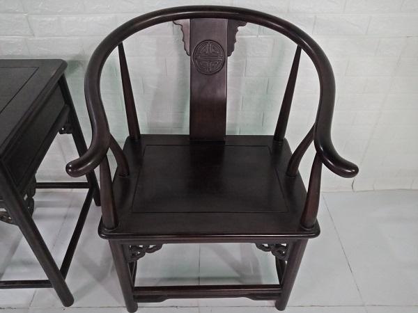 Bộ bàn trà gỗ Cẩm Thị cũ SP008331