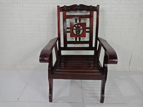 Ghế bàn trà gỗ Hương cũ SP008353
