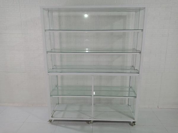 Tủ kính trưng bày cũ SP008323