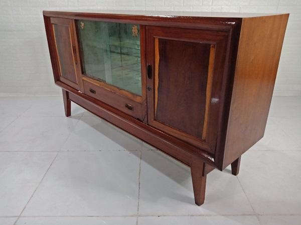 Tủ búp phê gỗ Gõ đỏ cũ SP008280