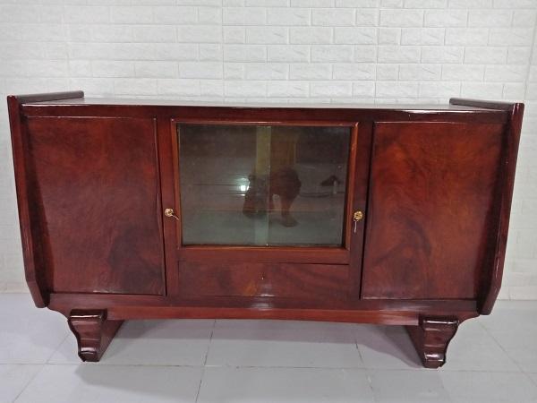 Tủ búp phê gỗ Nu + Xoan đào cũ SP008332