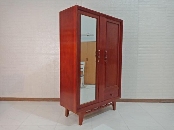 Tủ quần áo gỗ Bằng Lăng cũ SP008217