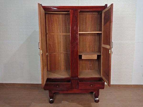 Tủ quần áo gỗ Cẩm lai cũ SP008142