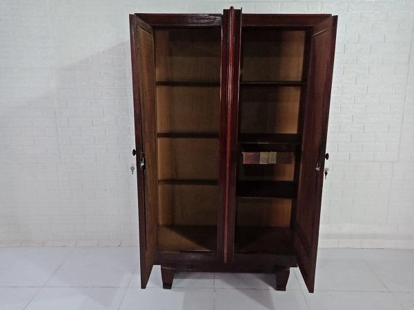Tủ quần áo gỗ Gõ đỏ cũ SP008462