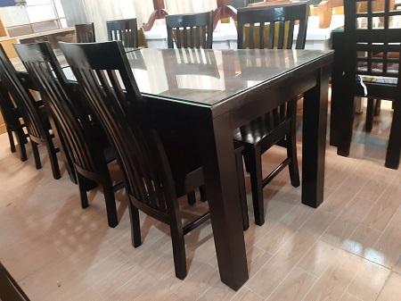 Bộ bàn ăn gỗ tự nhiên cũ SP015819.6