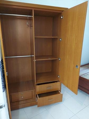 Tủ quần áo gỗ MDF cũ SP016016