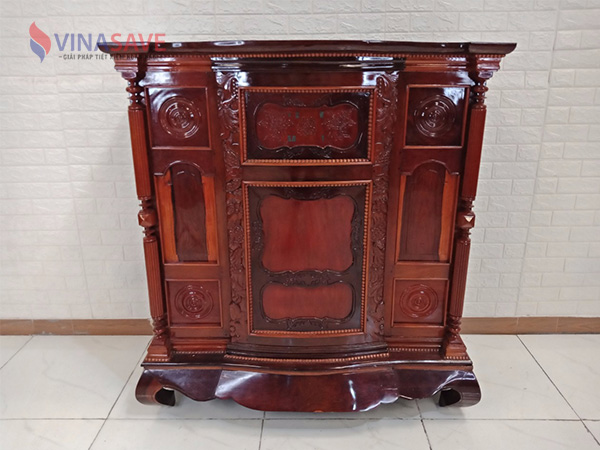 Tủ thờ gỗ cẩm lai, gõ đỏ SP008917