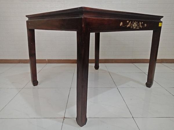 Bàn ăn gỗ Muồng đen cũ SP008635
