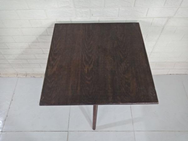 Bàn cafe gỗ cao su cũ SP009013