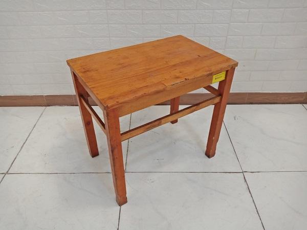 Bàn cafe gỗ thông cũ SP009131