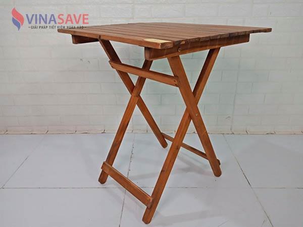 Bàn xếp gỗ Cao Su SP009067