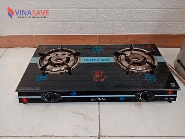 Bộ bình bếp gas Bluestar NG-3200 cũ