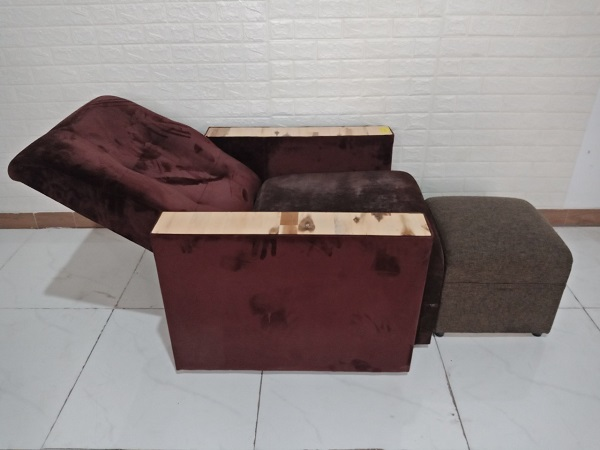 Ghế massage chân cũ SP008648