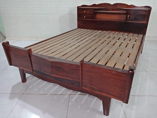 Giường gỗ Cẩm lai cũ SP008535.1