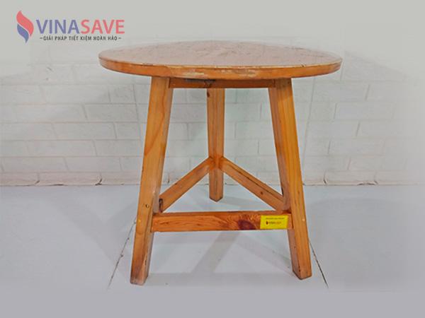 Bàn tròn cao gỗ SP009072