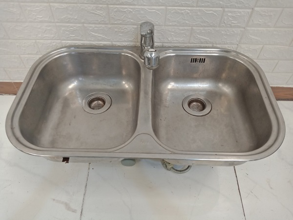 Bồn rửa chén inox cũ SP008883