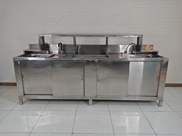 Bồn rửa chén inox cũ SP009119