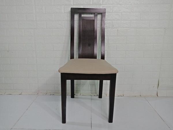 Ghế bàn ăn gỗ cao su cũ SP008832