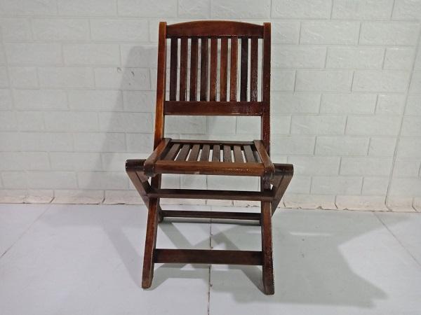 Ghế cafe gỗ cao su cũ SP008790.1
