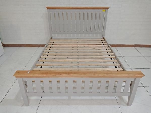 Giường gỗ cao su cũ SP008854.1