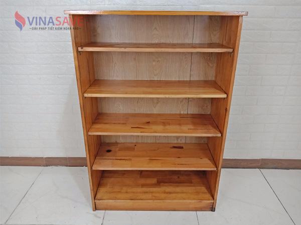 Kệ hồ sơ gỗ cao su cũ SP008935