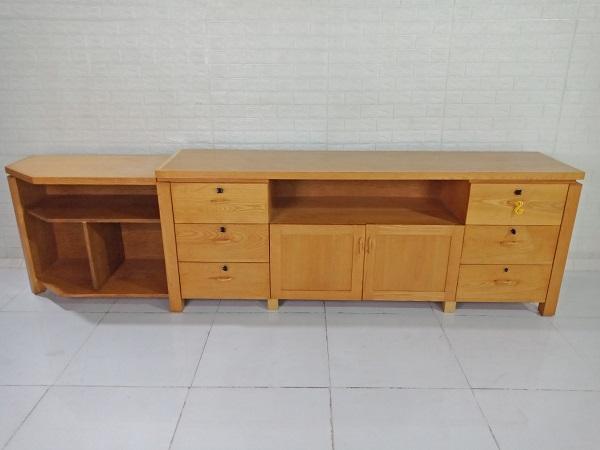 Kệ tivi gỗ Sồi cũ SP008889