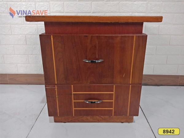 Tủ đầu giường cũ SP008942