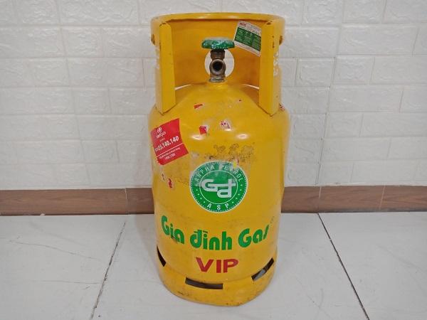 Vỏ bình gas Gia Đình 12kg cũ SP008821.1