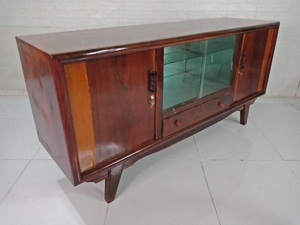 Tủ búp phê gỗ Hương + Cẩm + Nu cũ SP008539