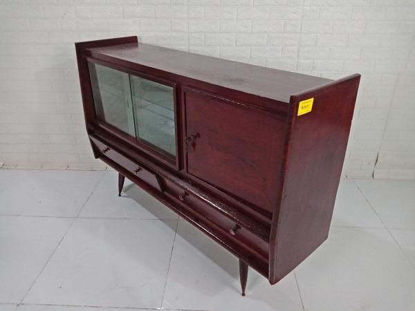 Tủ búp phê gỗ Thông cũ SP008795.1