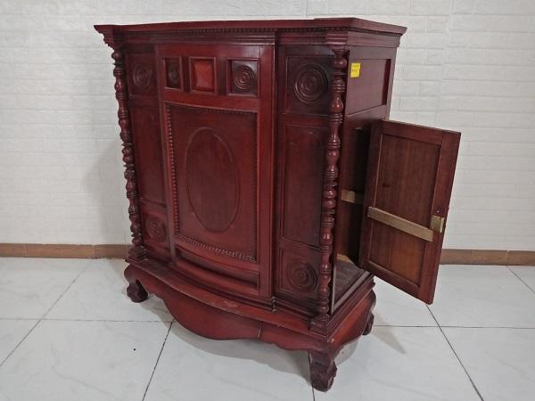 Tủ thờ gỗ Căm xe cũ SP008559