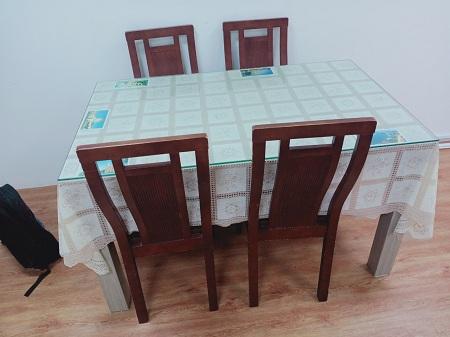 Bộ bàn ăn cũ SP013467