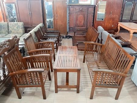 Bộ sofa cafe cũ SP013441